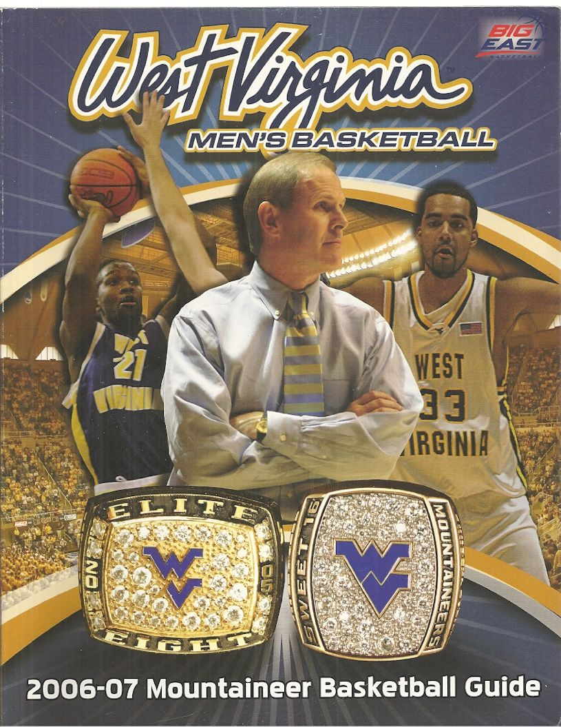 Big East West Virginia Men's Basketball 2006-2007 Mountaineer Basketball Guide, Big East West Virginia College