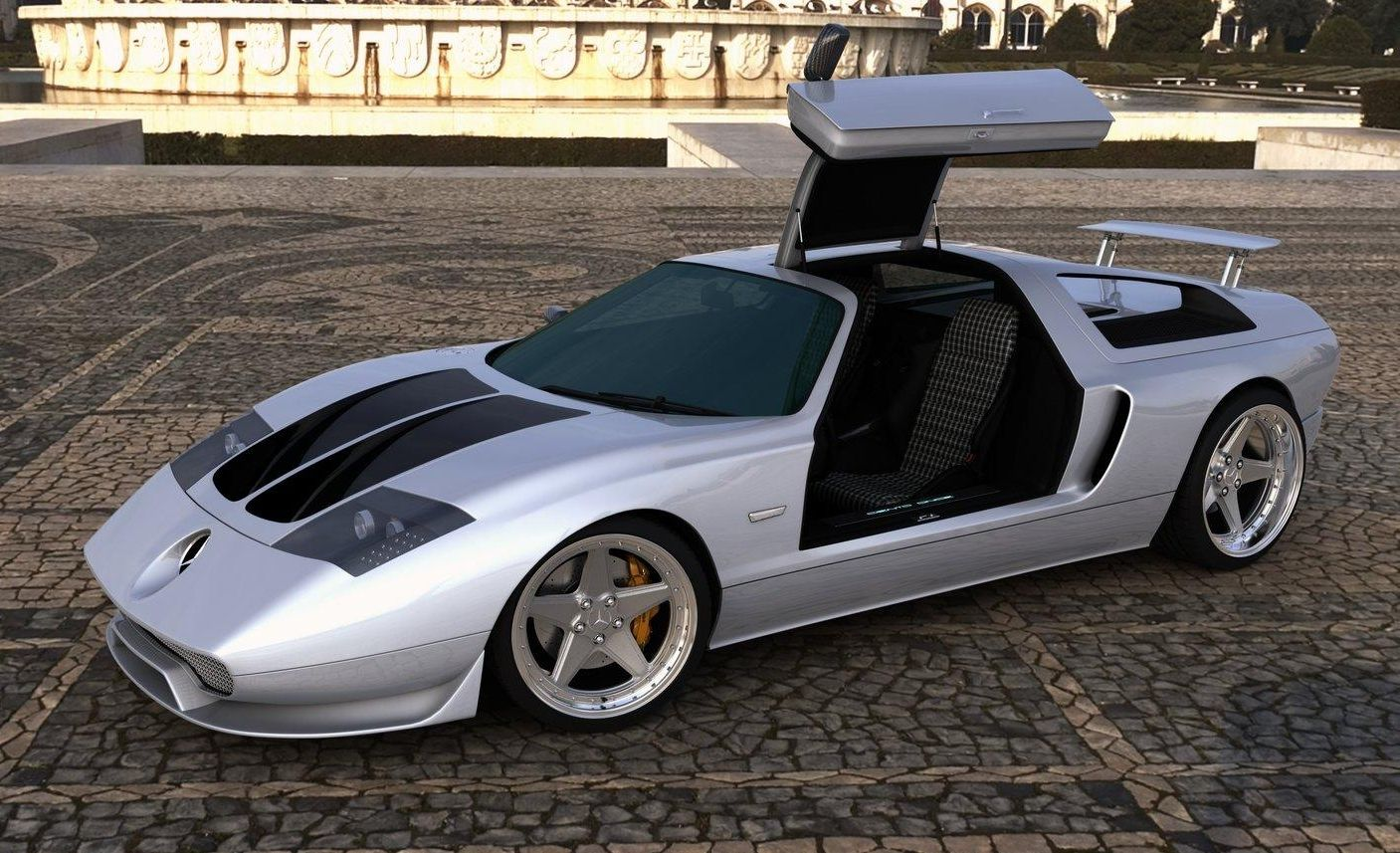 power cars mercedes benz c 111 ciento once by gwa. Black Bedroom Furniture Sets. Home Design Ideas