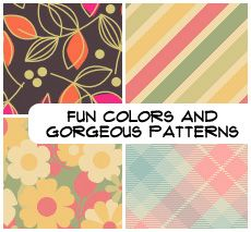 Fun Colors and Patterns