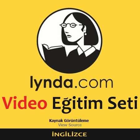 Lynda.com Video Eğitim Seti - Kaynak Görüntüleme - İngilizce